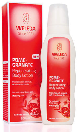 Weleda Pomegranate Regenerating Body Lotion by 6.8oz Lotion)