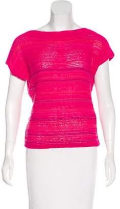 Lauren Ralph Lauren Knit Short Sleeve Top