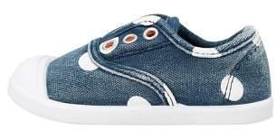 MANGO Unisex polka dot denim sneaker