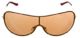 Versace Shield Tinted Sunglasses