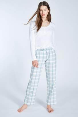 Jack Wills fretherne check lounge pant