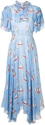 DAY Birger et Mikkelsen Macgraw swan print dress
