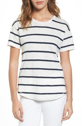 Women's Madewell Whisper Cotton Crewneck Tee $32 thestylecure.com