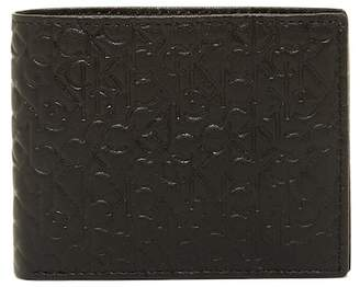 Calvin Klein Embossed Leather Bi-\nFold Wallet $45 thestylecure.com