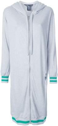Thomas Wylde zipped long hoodie