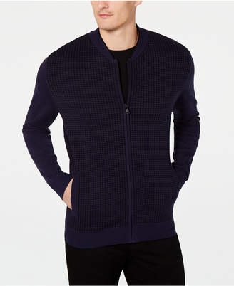 Alfani Men Plaited Cardigan Sweater