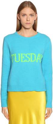 Alberta Ferretti Tuesday Wool & Cashmere Sweater