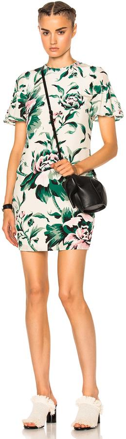 Burberry Flare Sleeve Shift Dress