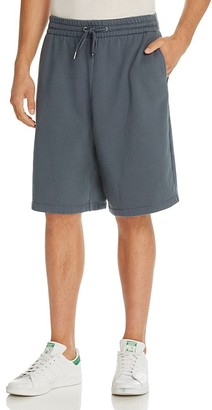 T by Alexander Wang Fleece Oversized Sweat Shorts $185 thestylecure.com