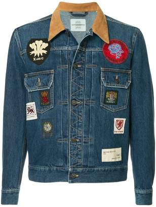 Kent & Curwen badged denim jacket