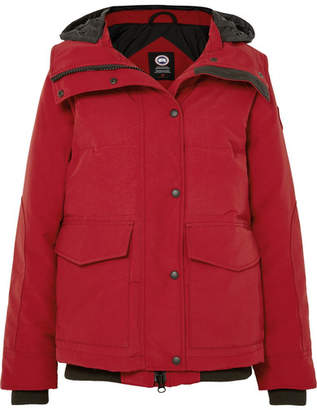 Canada Goose Deep Cove Quilted Shell Down Jacket - Red