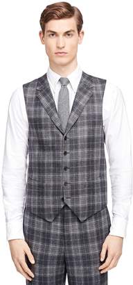 Brooks Brothers Plaid Vest