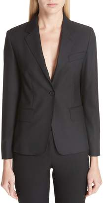 Max Mara Certosa Stretch Wool & Silk Jacket