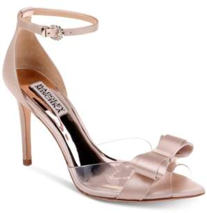 Badgley Mischka Lindsay Evening Pumps Women's Shoes