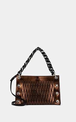 Sonia Rykiel Women's Le Baltard Leather Double Shoulder Bag - Gold