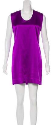 Helmut Lang Silk Cutout-Accented Dress w/ Tags