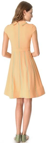 Moschino Short Sleeve Cady Dress
