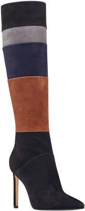 Nine West Toprank Blocked Knee High Boot