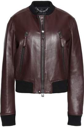 Belstaff Camila Leather Bomber Jacket