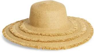 4a4a917afa9 San Diego Hat Ultrabraid Frayed Floppy Hat