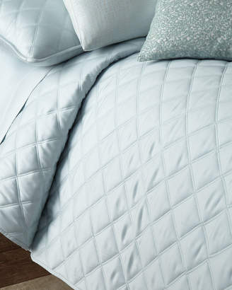 Pine Cone Hill Quilted Silken Solid King Coverlet