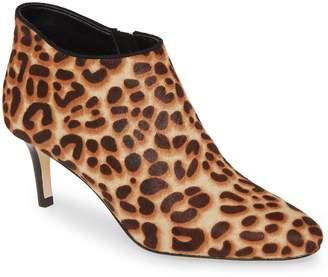 Pelle Moda 'Yelm' Almond Toe Genuine Calf Hair Bootie