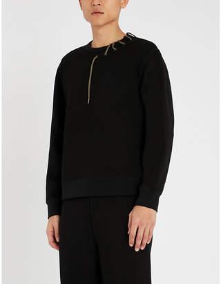 Craig Green Laced jersey sweatshirt