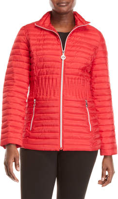 Laundry by Shelli Segal Packable Lightweight Down Quilted Jacket