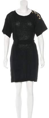 3.1 Phillip Lim Belted Knit Dress