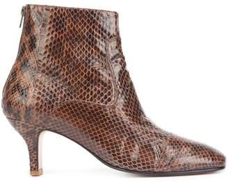 Rachel Comey snakeskin effect ankle boots