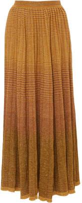 Ulla Johnson Billie Metallic Stretch-Knit Maxi Skirt Size: L