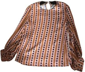 Creatures of the Wind Pink Silk Top for Women