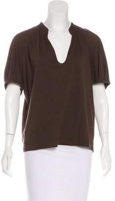 Dries Van Noten Jersey Short Sleeve Top