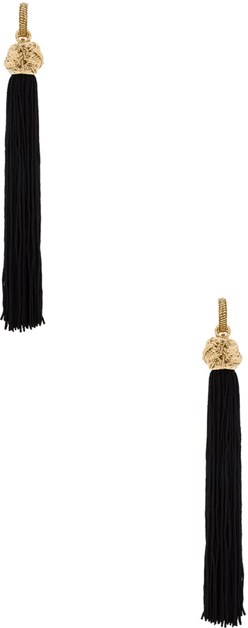 Saint Laurent Saint Laurent Tassel Earrings