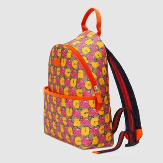 Gucci Children's GG supreme backpack