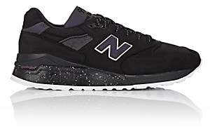 New Balance Men's 998 Nubuck Sneakers-Black
