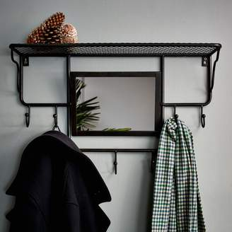 Graham and Green Industrial Rack With Mirror