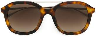 HUGO BOSS oversized tortoise sunglasses