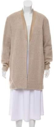 Tibi Open Front Wool Blend Coat