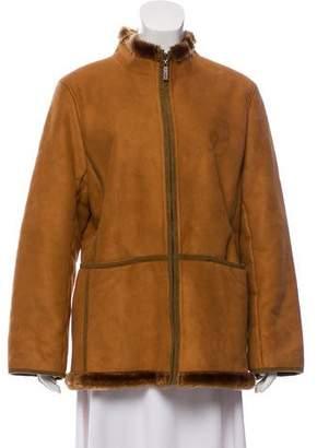 Sonia Rykiel Sonia by Faux Fur Lined Jacket