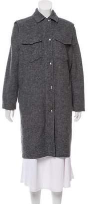 Alexander Wang Layered Knee-Length Coat