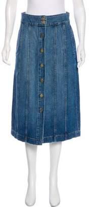 Frame Midi Skirt