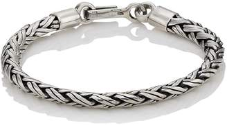 SPIGA Caputo & Co Men's Sterling Silver Chain Bracelet