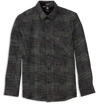 Volcom Boys' Buffalo Glitch Shirt - Big Kid