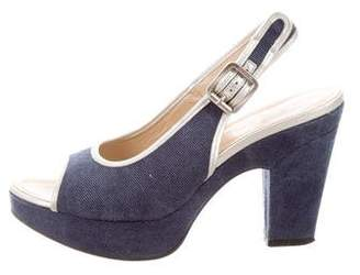 Hogan Denim Pumps