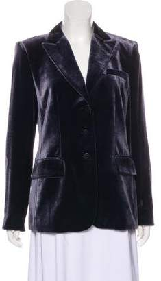 Armani Collezioni Lightweight Velvet Blazer
