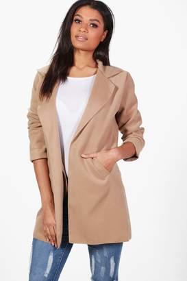 boohoo Collared Coat