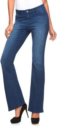 Women's Jennifer Lopez Curvy Fit Bootcut Jeans $54 thestylecure.com