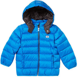 Armani Junior Quilted Zip Down Jacket