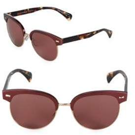 Oliver Peoples 55MM Clubmaster Sunglasses